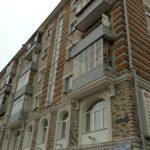 Обшивка балконов металлическими листами